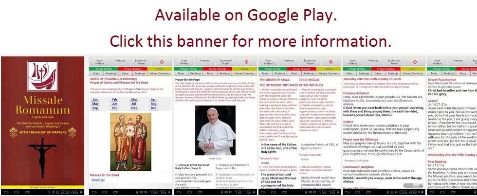 Roman Missal App
